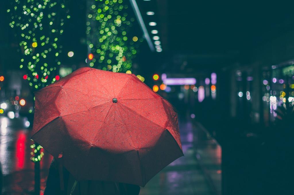 umbrella red content marketing